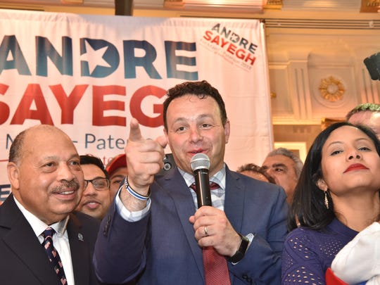 Andre Sayegh's regular campaign committee expended about $366,000 on the election, and a Bayonne-based group spent another $138,000 to back his candidacy.