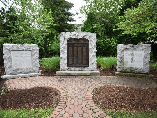 Chepurko started his research into the lives and deaths of local soldiers at Hawthorne's official monument to the fallen, which lists the dead on three stone plaques that stand on Lafayette Avenue behind Borough Hall.