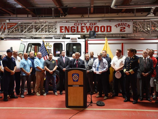 Englewood News conference Firefighters 3