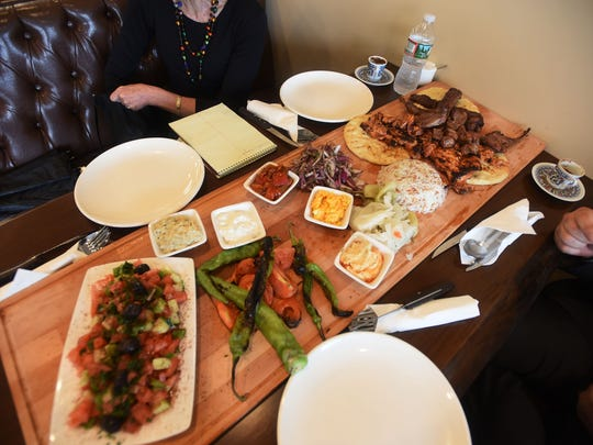 .Sharing Platter at Galata in Paterson  .