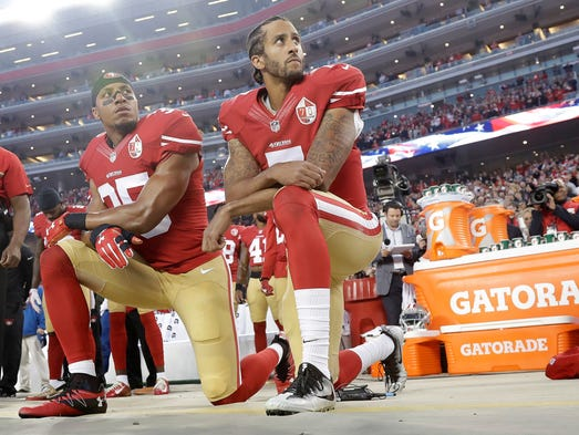 Colin Kaepernick's national anthem protest started