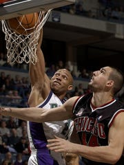 In his career with the Bucks, forward Darvin Ham had