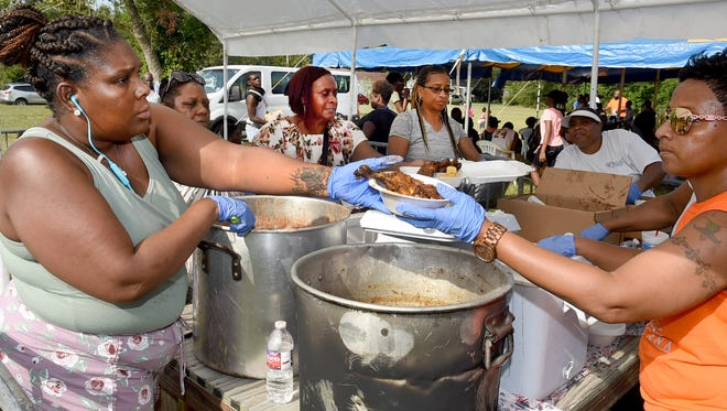 It's never too hot for a good time and residents of District E in Opelousas had just that as they celebrated at the Family Fun Day organized by District E Councilwoman. Jackie Martin. The fun day was held Saturday, July 21.