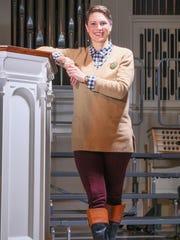 Kaci Clark-Potter wears Ralph Lauren riding boots;