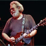 The late Grateful Dead lead singer Jerry Garcia, shown here in 1992, will be the subject of an all-star tribute concert May 14 in Columbia, Md.
