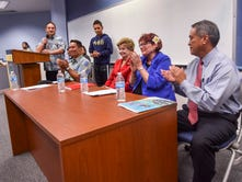 Delegate candidates present views on key issues