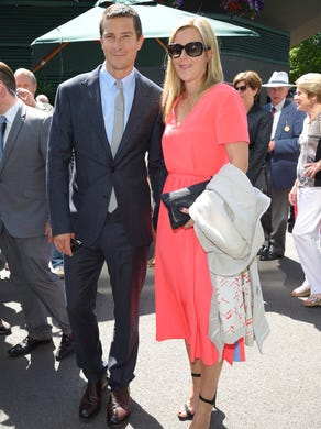 TV personality Bear Grylls and wife Shara Grylls have