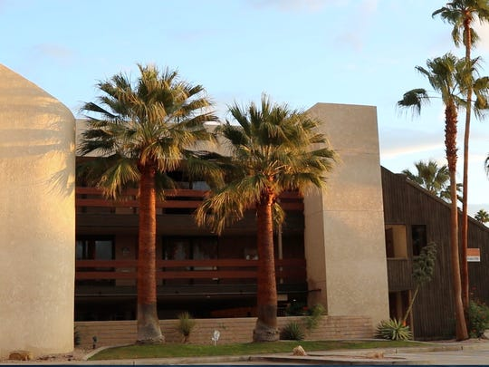 Donated by philanthropists John McDonald and Rob Wright, this building at 1301 N. Palm Canyon Drive in uptown Palm Springs will undergo renovation to become The Center's new home.