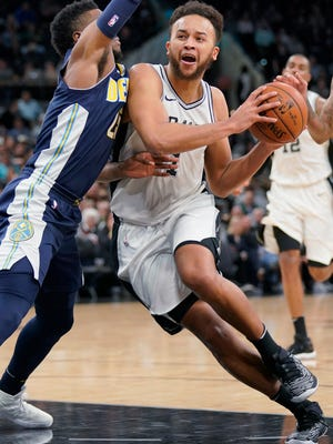 Kyle Anderson, who played for the San Antonio Spurs last season, gives the Grizzlies many lineup options.