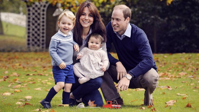 The cutest, most royal family in the land.