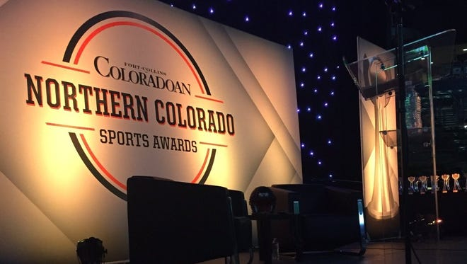 The stage is set for the Northern Colorado Sports Awards.