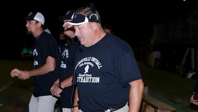 Robbinsville football coach Dee Walsh.