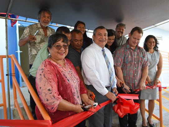 A ribbon cutting ceremony was held for the Astumbo