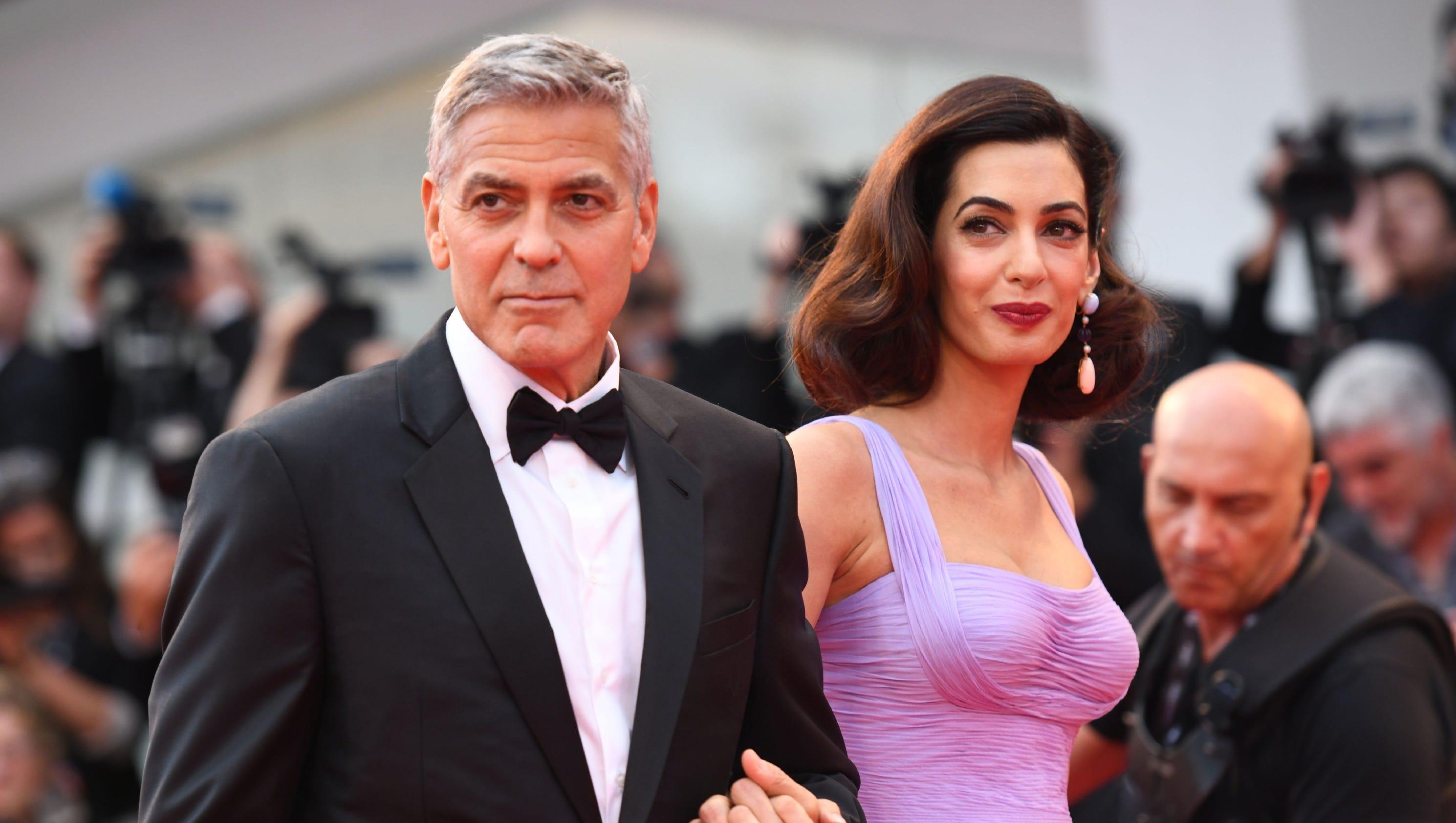 Oprah, Spielberg, Katzenberg match Clooney\'s $500K donation to march