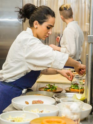 """Cooking is one of the most visceral forms of expression,"" says Liberty Street Bistro's new chef de cuisine Layla Saif. The Newburgh eatery is participaing tin Hudson Valley Restaurant Week featuring such dishes as Truffle Arancini and monkfish."