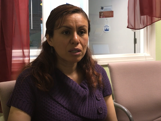 Juanita Perea of Oasis Charter School.
