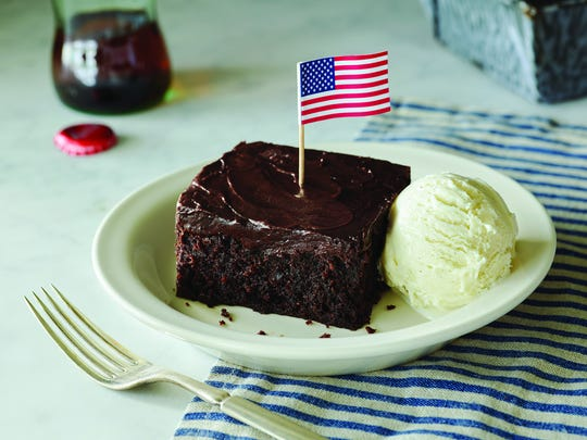 Cracker Barrel Old Country Store will offer a complimentary piece of Double Chocolate Fudge Coca-Cola Cake to service members at all of its stores.