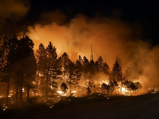 Custer State Park Fire