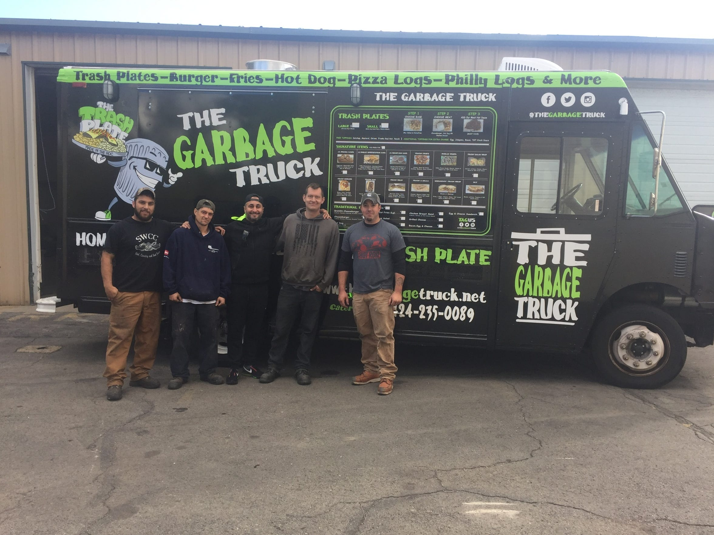 Joe LoPresti, center, had his second food truck completed by Four Horse Customs.