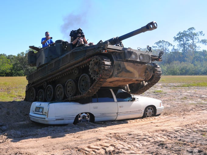 Tank America in Melbourne invited the media to tour