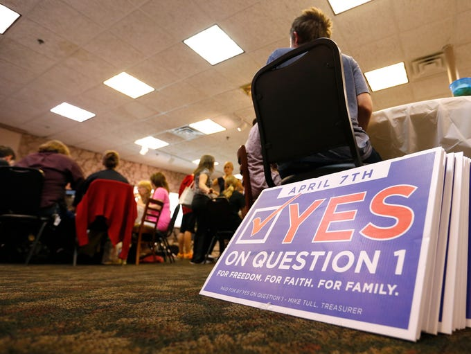 Springfield voters narrowly voted to repeal the SOGI