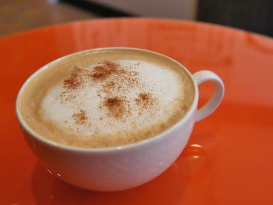 The Gré Coffee House and Art Gallery offers espressos,