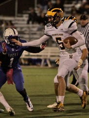Hartland quarterback Noah Marshall will lead the Eagles
