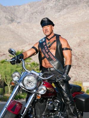 Mr. Palm Springs Leather Clifton Tatum. (INSIDE MAIN IMAGE)