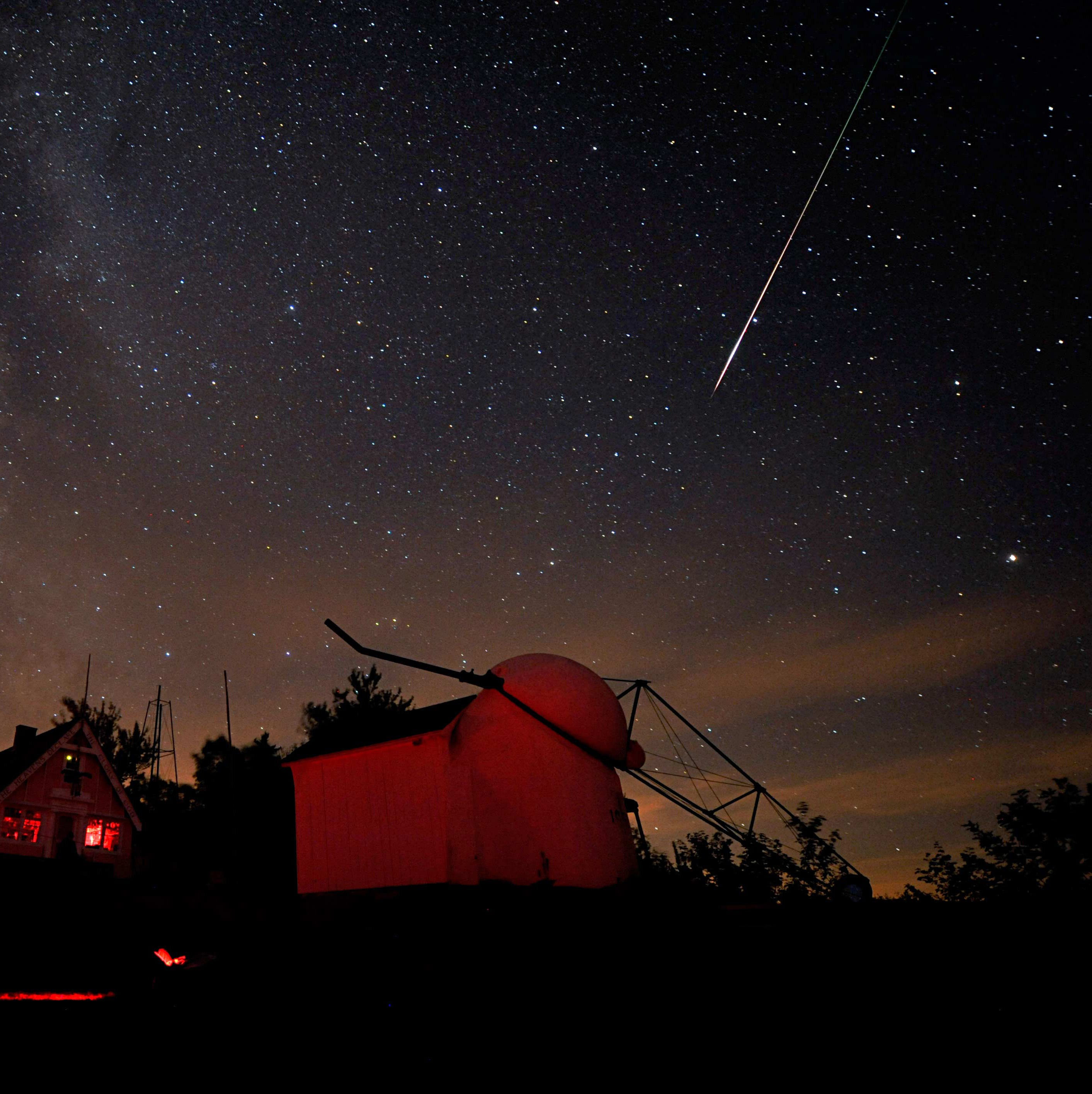 Perseid meteor shower to light up night sky this weekend