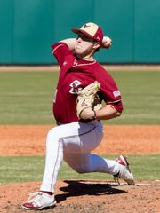 Brian Rapp of Mendham pitches for Boston College.