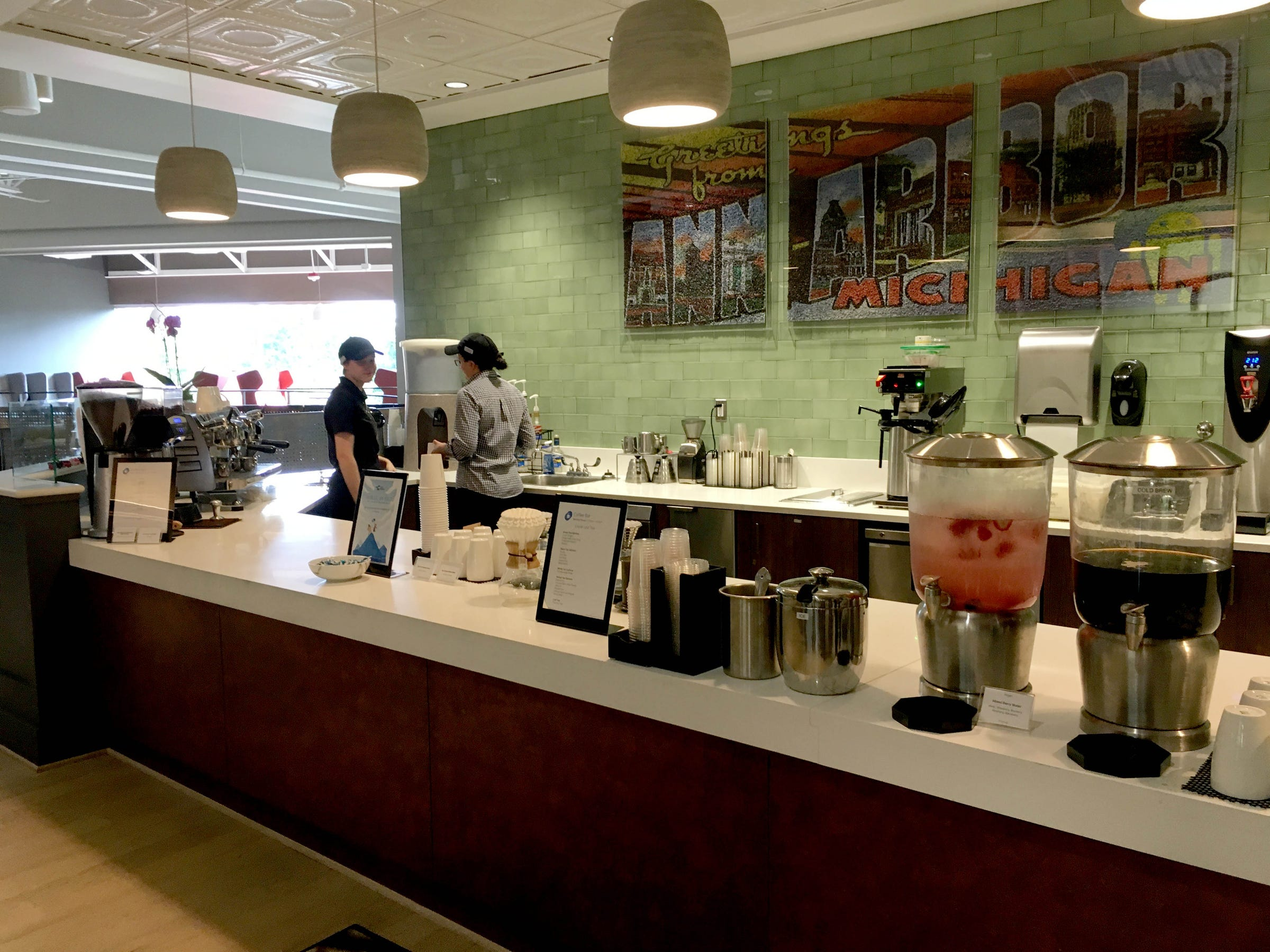The google office Gurgaon Google Office In Ann Arbor On Sept 21 2017 Detroit Free Press Google Shows Off Amenityfilled Ann Arbor Office Where Lunch Is Free