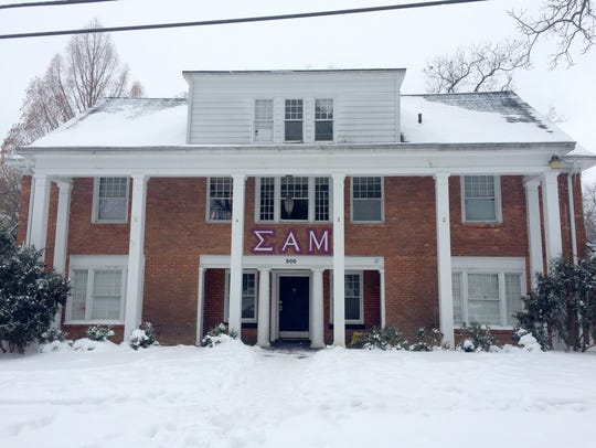 Sigma Alpha Mu fraternity house in Ann Arbor.