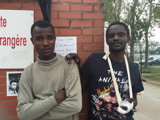 Muzammil Mohamed Ali, left, and Andy Mohammed, both