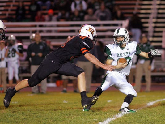 Ridgewood beats Malvern 49-6 claiming at least a share of the IVC title.