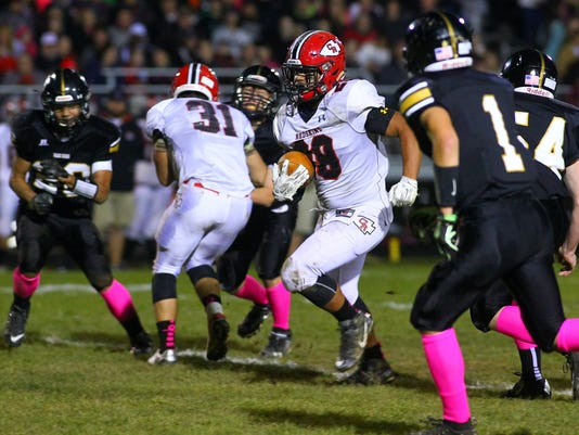 Coshocton 42, River View 8