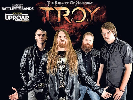Springfield's own T.R.O.Y. joins Paralandra and Crowning Alice to put on a rock festival at Cartoons Oyster Bar Saturday.