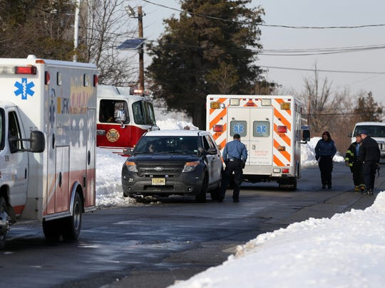 Scene of a carbon monoxide emergency at the Ozanam Shelter, Monday, Jan. 25, 2016, in Edison.