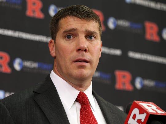 Rutgers football coach Chris Ash discusses his recruiting