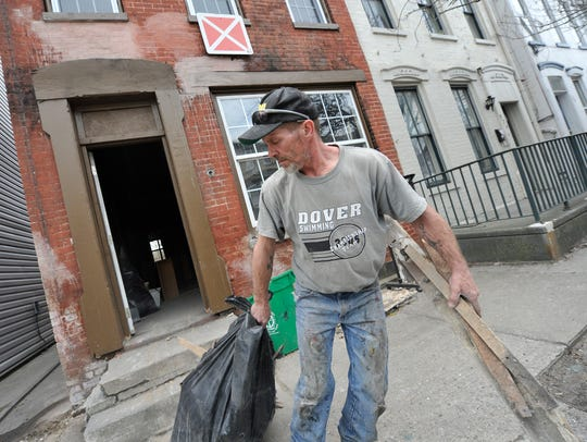David Parrish, a maintenance worker with Dean's List