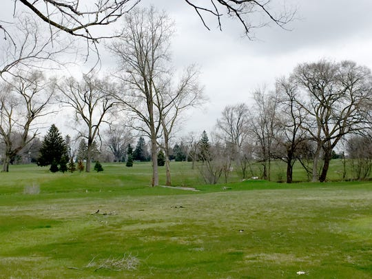 The closed Sunnybrook golf course in Sterling Heights