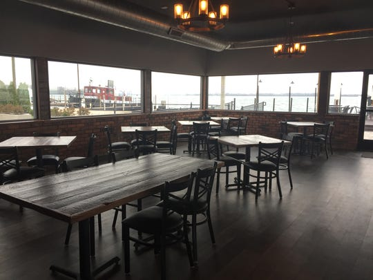 The Waterfront Restaurant and Lounge opens May 2 in Wyandotte. Most of the main dining room has water views.