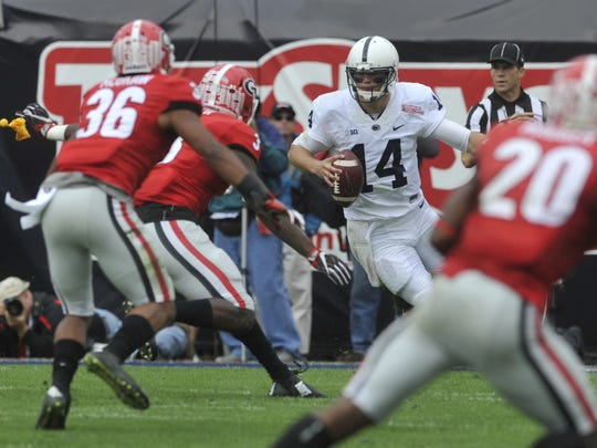Christian Hackenberg's toughness and durability are