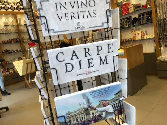 Seize the day in Rome, Italy.