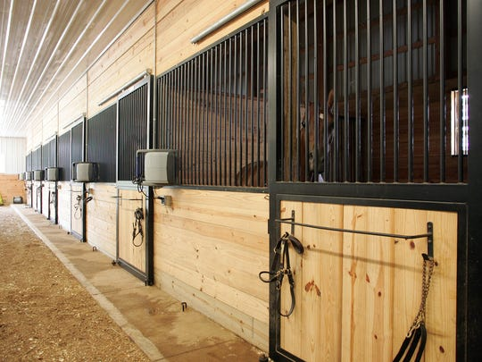 Deep LM Farm in Granville is home to Morgan Reiser Stables.