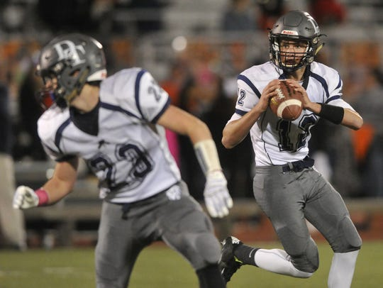 Dallastown quarterback Michael Sparks got some experience