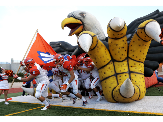 Canutillo takes the field to face Socorro in their