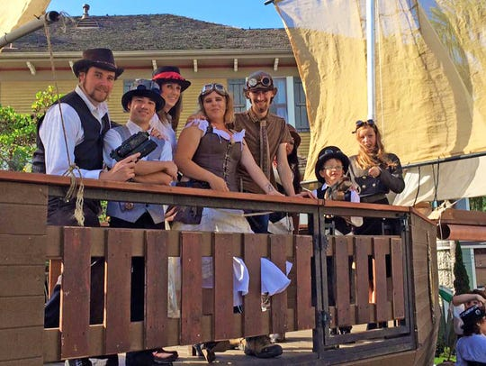 Last year's SteampunkFest at Heritage Square in Oxnard.