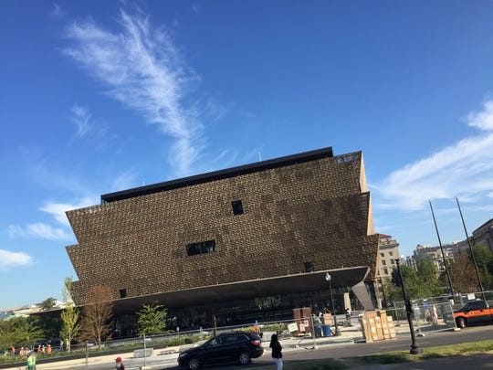 National Museum of African American History and Culture in Washington D.C., press preview day on Wednesday Sept. 14. The museum opens to the publkic on Sept. 24.