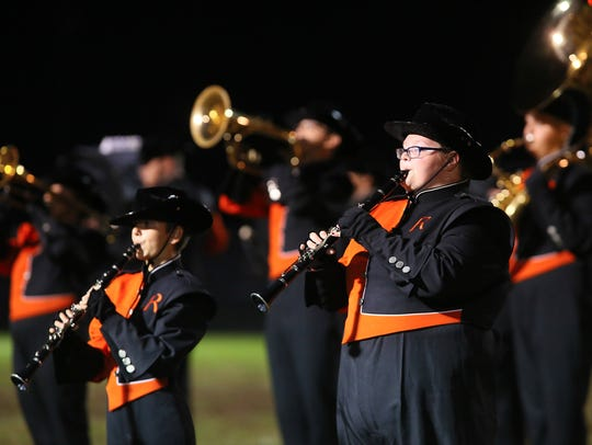 The Ridgewood Marching Band returns to the state finals