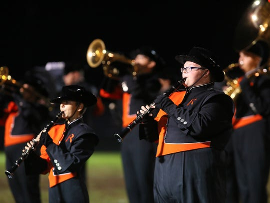 The Ridgewood Marching Band returns to the state finals Saturday with a 3:45 p.m. performance at Hilliard Bradley High School.